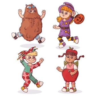 Halloween-kinderkollektion