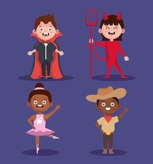 Halloween-kinderset