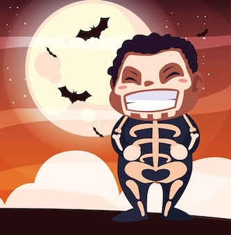 Halloween kostüm kind