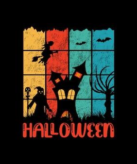 Halloween kreatives vektordesign
