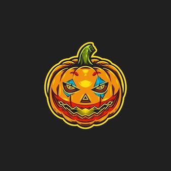 Halloween kürbis illustration