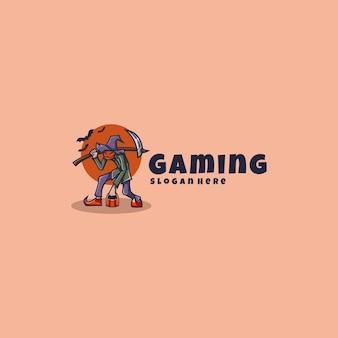 Halloween logo maskottchen
