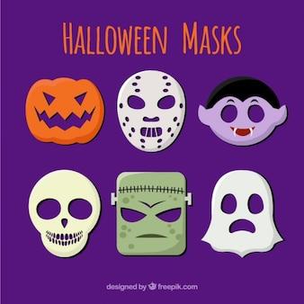 Halloween-masken