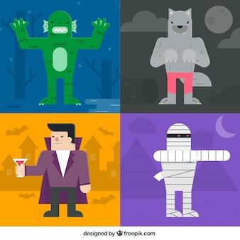 Halloween-monster