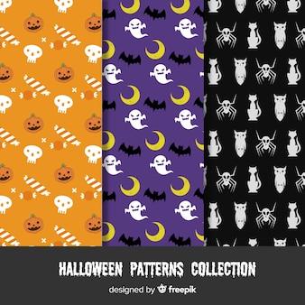 Halloween-Muster-Sammlung
