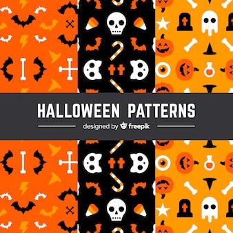 Halloween-Muster-Set