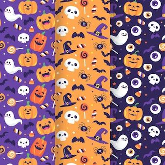 Halloween muster zeichnen