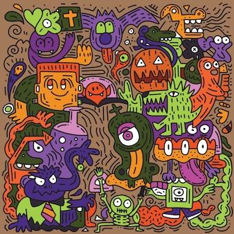 Halloween-muster