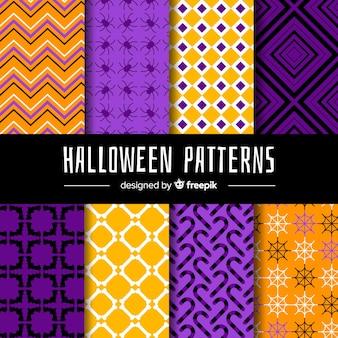 Halloween-musterpackung