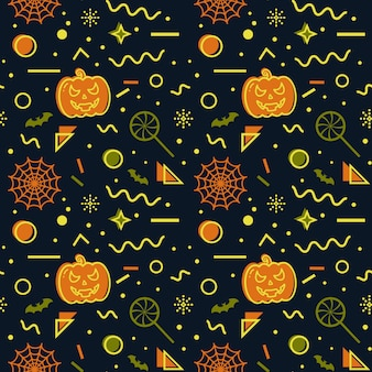 Halloween nahtlose hintergrund