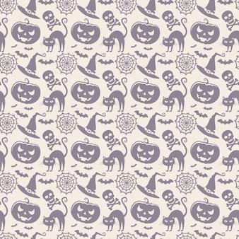 Halloween nahtlose muster