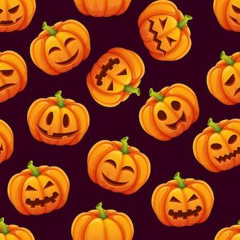 Halloween nahtloses muster