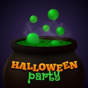 Halloween-party-vektor-hintergrund