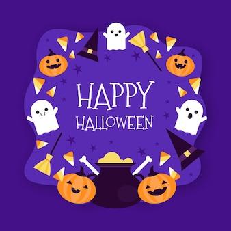 Halloween rahmen