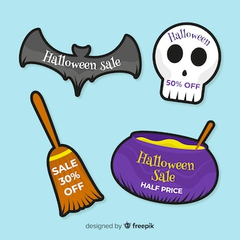 Halloween sale bagde sammlung
