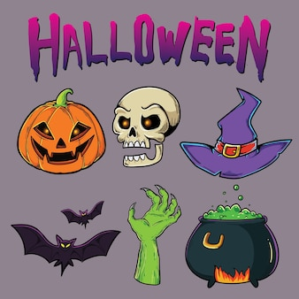 Halloween-sammlung