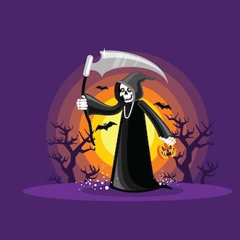 Halloween-sensenmann