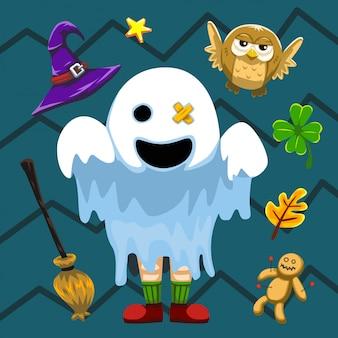 Halloween set ghost