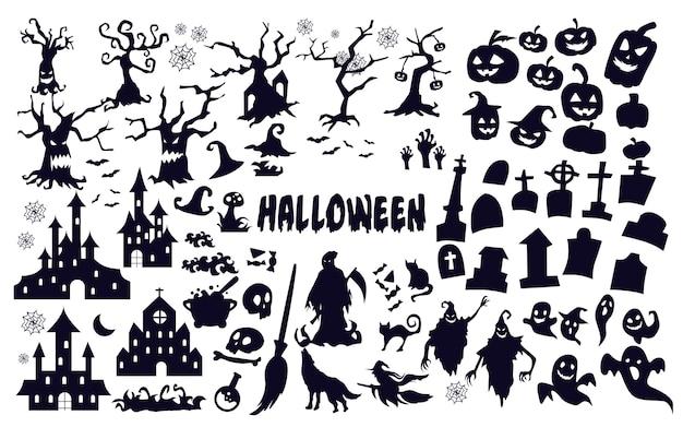 Halloween silhouetten