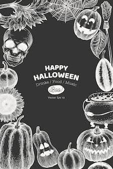 Halloween-sonderkarte