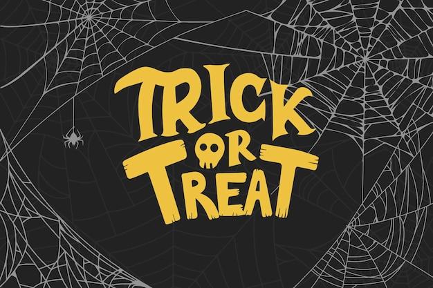 Halloween spinnennetz hintergrund