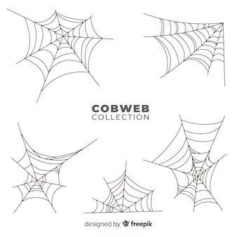 Halloween-spinnweben-set