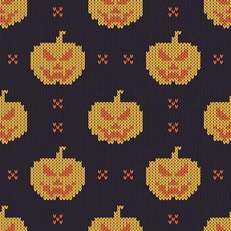 Halloween strickmuster.