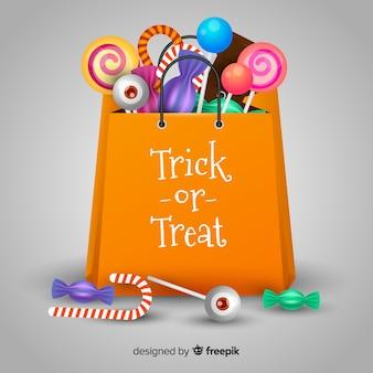 Halloween-tasche-konzept