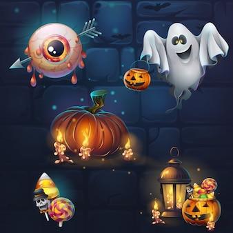 Halloween-themenillustrationen