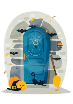 Halloween-tür