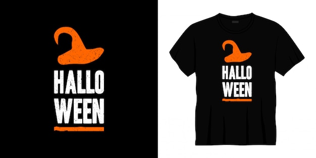 Halloween typografie t-shirt design