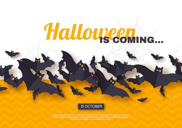 Halloween urlaub hintergrund.