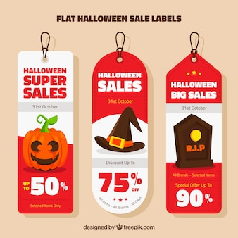 Halloween verkauf tags