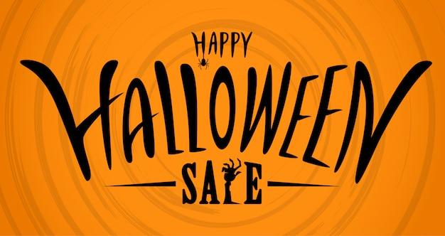 Halloween-verkaufsfahne