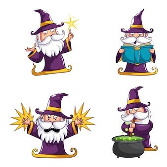Halloween-zauberer