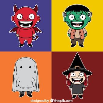 Halloween zeichen sammlung