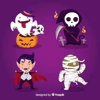 Halloween-zeichen-sammlung