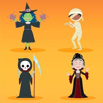 Halloween zeichensatz