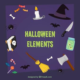 Halloween zubehör set