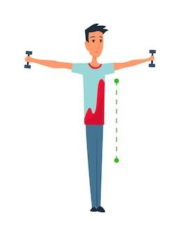 Haltung und ergonomie