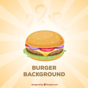 Hamburger hintergrund