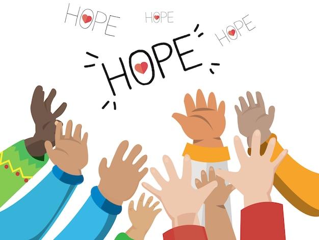 Hand der hoffnung