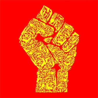 Hand der revolution