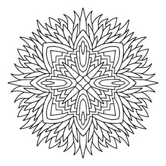 Hand gezeichnetes mandala