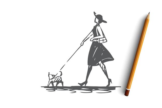 Hand gezeichnetes offenes buch mit leerseiten-konzeptskizze
