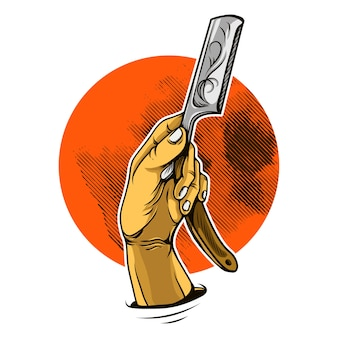 Hand rasiermesser