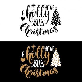 Hand schriftzug weihnachten zitat