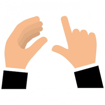 Hand-symbolbild