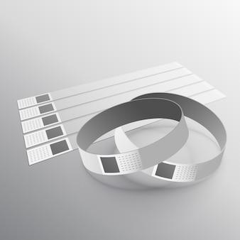 Hand verschleiß armband modell vorlage