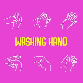 Hand waschen